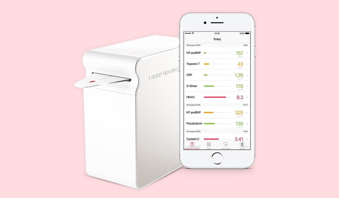 1Drop Reader & App - 1Drop Diagnostics