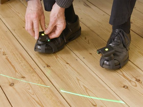 Path Finder Laser Shoes - Walk With Path