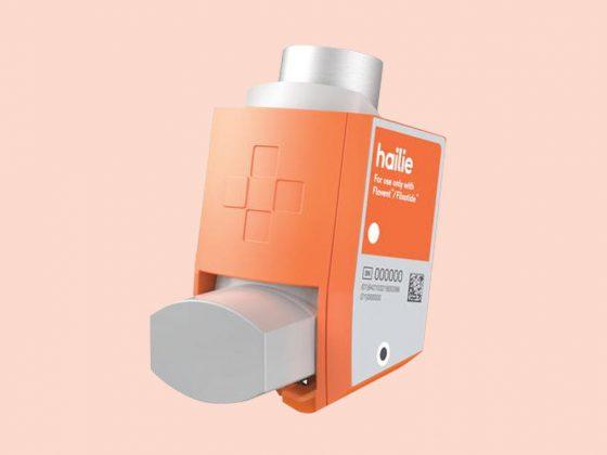 Hailie sensor for inhaler
