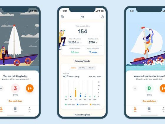 Less - alcohol tracker app