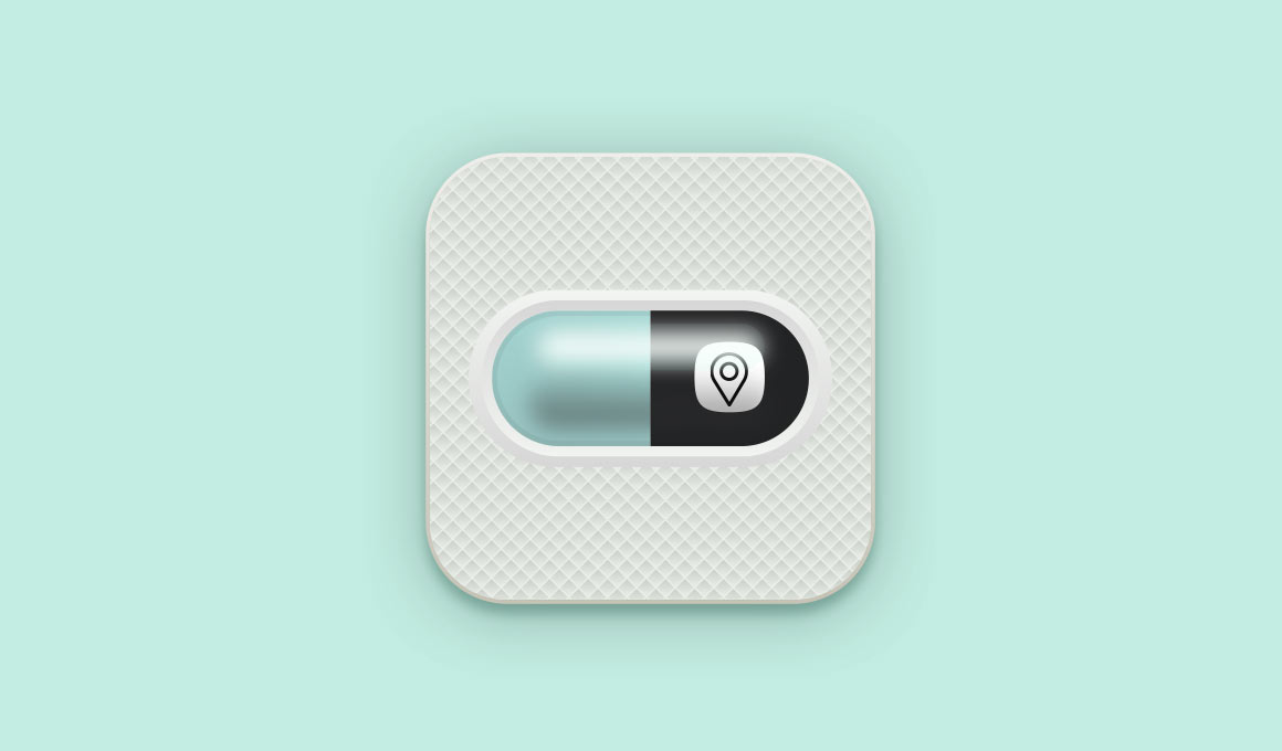 Locate a Locum Pill Concept