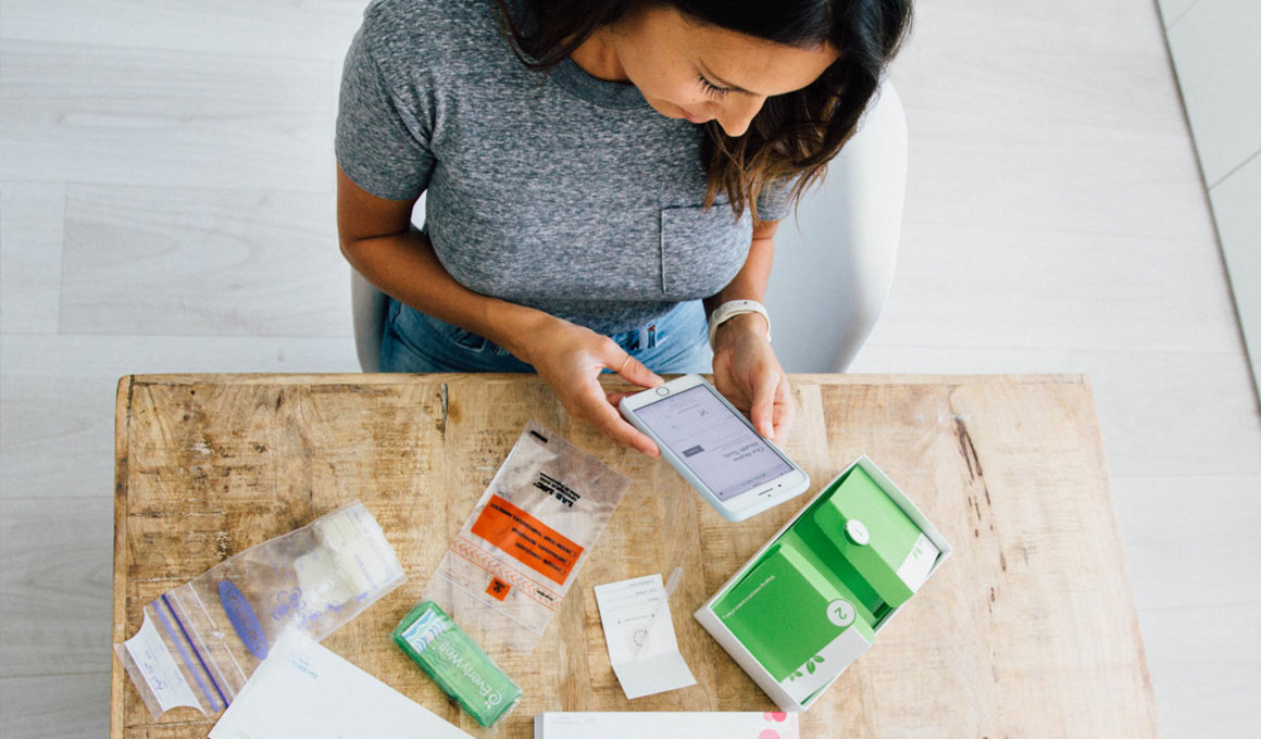 Everlywell at-home health testing