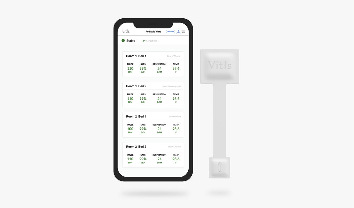 Vitls - Vital Signs Monitoring Platform