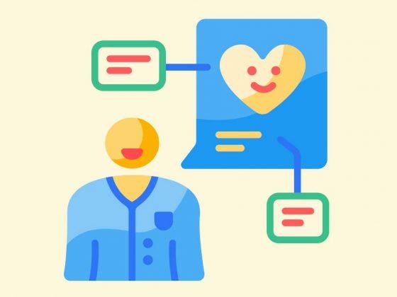 Telemedicine concept illustration