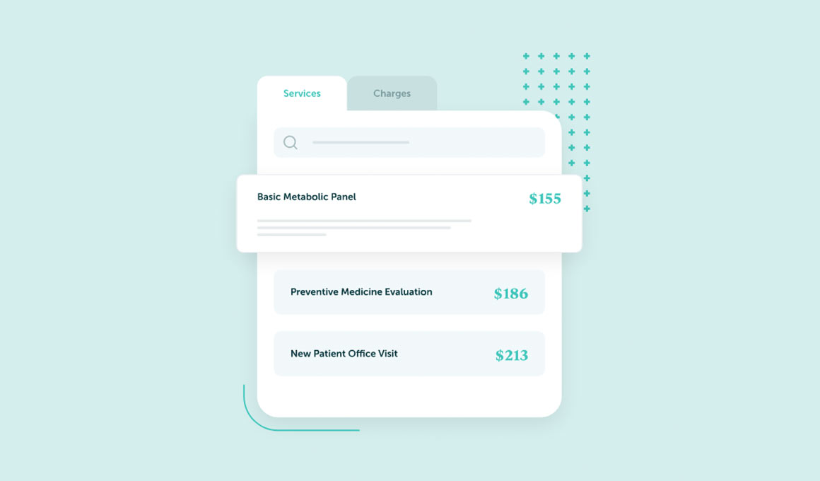 Turquoise Health Price Transparency UI