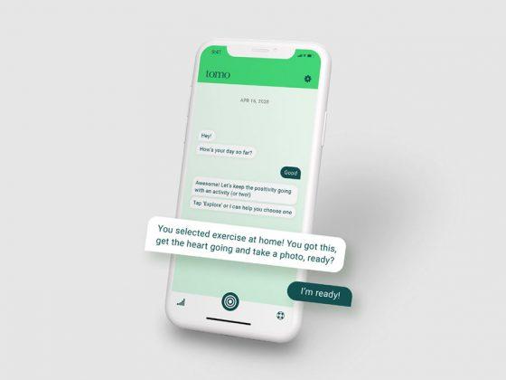 tomo mental health app
